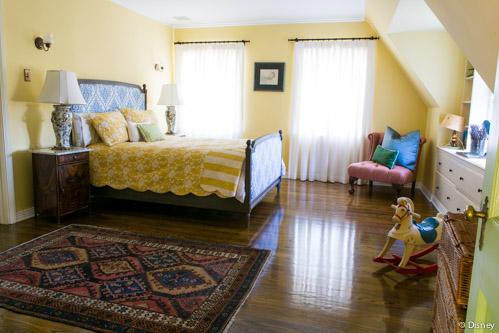 Walt Disney's daughter's bedroom in Woking Way home