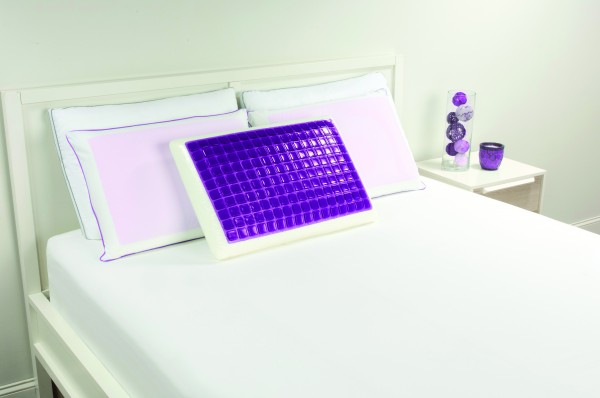 Lux Living Memory Foam Lux Gel Pillow