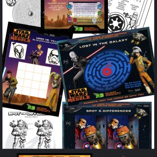 Star Wars Rebels Activity Sheets #Printables #StarWarsRebels