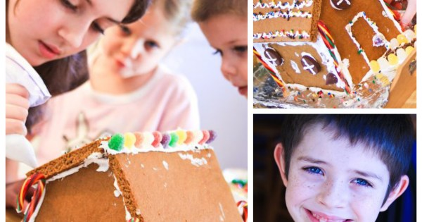 How To Make Homemade Gingerbread Houses Frosting Cement