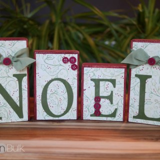 NOEL Christmas Craft