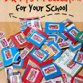 Tips For Collecting Box Tops for Education #foodlionboxtops