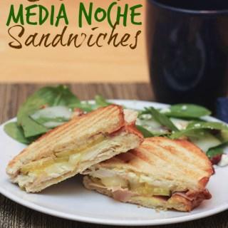Classic Cuban Medianoche Sandwich #PSF