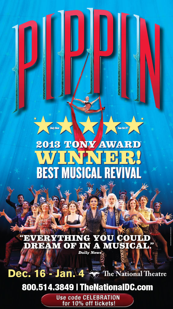Pippin at the National Theater in DC