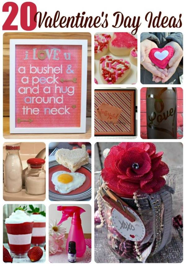 Valentine's Day #CreativeHOP craft and foodie round up