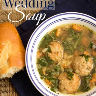 Easy Italian wedding soup with Johnsonville meatballs #MeatballMasters