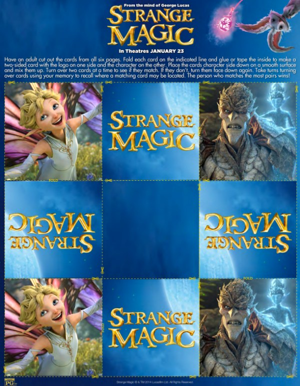 Strange Magic - match
