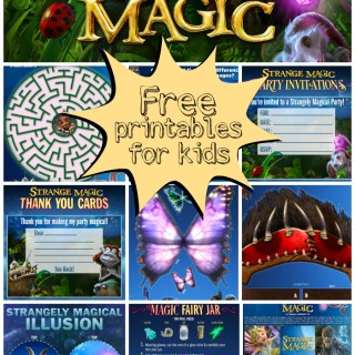 Strange Magic printables
