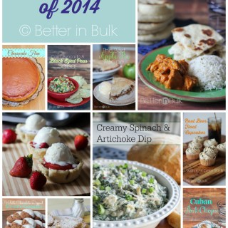 Top 10 Recipes of 2014 from Better in Bulk