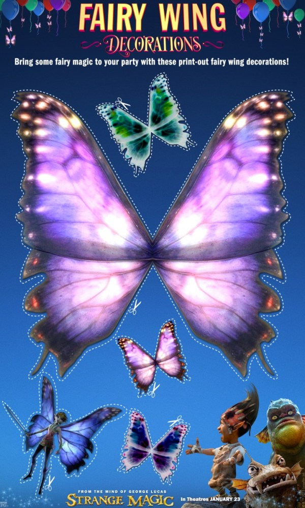 Strange Magic Fairy Wings