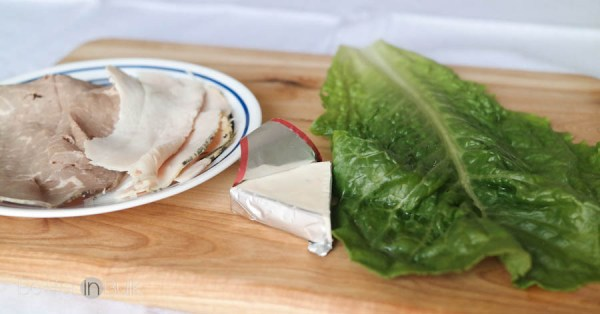 Weight Watchers lettuce wraps - 3 PointsPlus