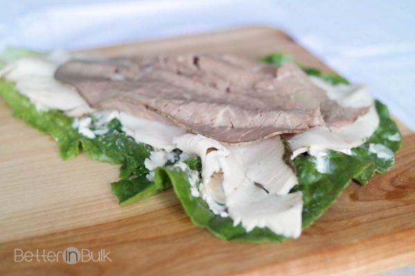 Weight Watchers lettuce wraps - 3 PointsPlus