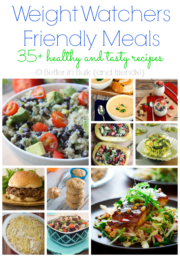 Weight watchers friendly meals a collection of 35 recipes - Plat cuisine weight watchers ...
