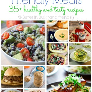 Weight Watchers friendly meals
