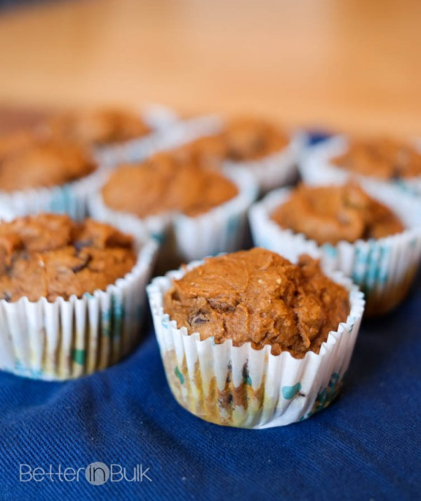 Weight Watchers Chocolate Chip Pumpkin Muffins