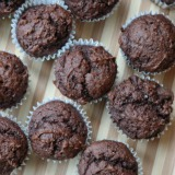 Weight Watchers Friendly Chocolate Pumpkin Muffins