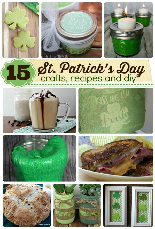 St. Patrick's Day recipes and crafts