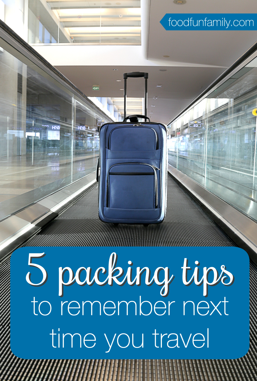 Love to travel and explore? Check out these 5 packing tips to remember next time you travel - how and what to pack!