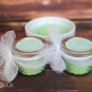 DIY Easy Mint Sugar Scrub {+ Printable Labels}