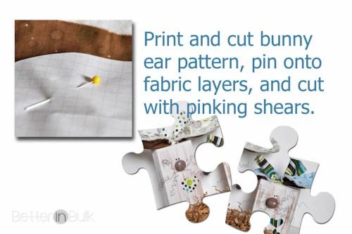 Chunky Bunnies - DIY Spring Craft