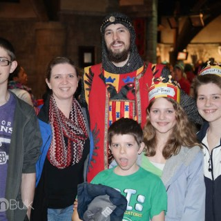 Kicking Off Spring at Medieval Times
