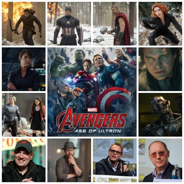 Avengers 2 lineup of talent