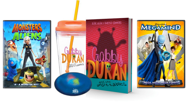 Gabby Duran and the Unsittables PLANET EARTH prize pack