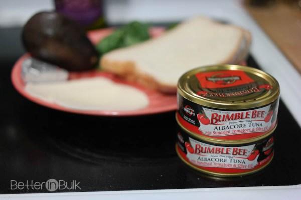 Sundried tomato tuna panini