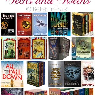 12 book series for teens and tweens - summer reading series