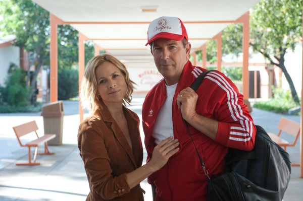 McFARLAND, USA Coach Jim White and his wife (Kevin Costner and (Maria Bello)