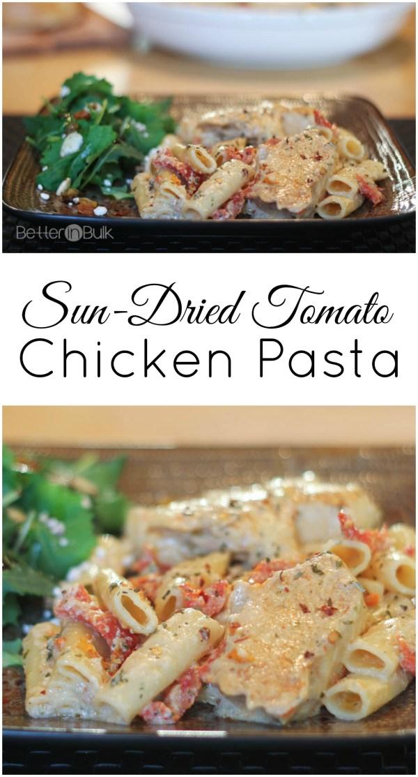 Sun-Dried Tomato Chicken Pasta