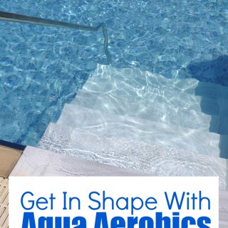 Get in shape with aqua aerobics