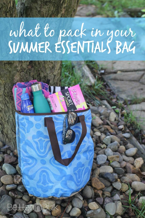 10 things to pack in your summer essentials bag
