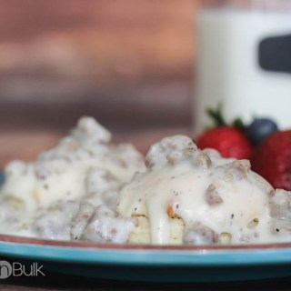 Classic Southern biscuits and gravy recipe