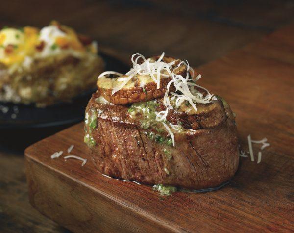 Outback Steakhouse Filet Portabella 2015
