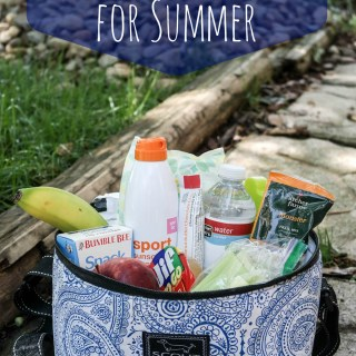 On the go snacking tips for summertime #TargetRun