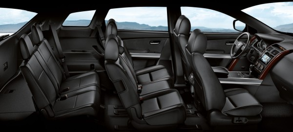 2015 Mazda CX-9 3 row seating