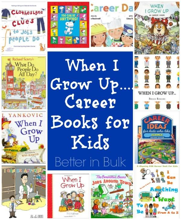 Career books for kids