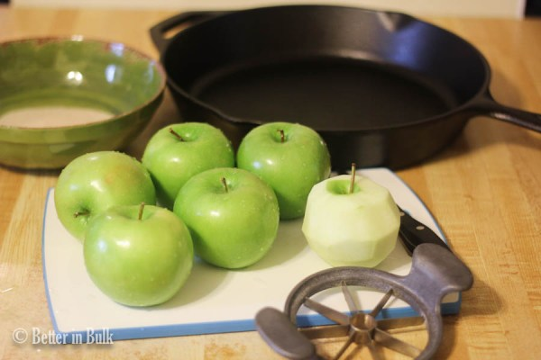 Skillet Apple Crisp Recipe