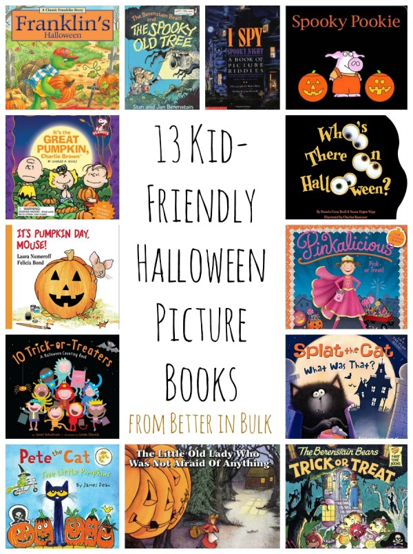 13 kid-friendly Halloween picture books
