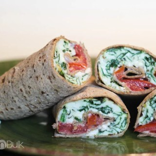Spinach And Feta Wraps #AllWhitesEggWhites