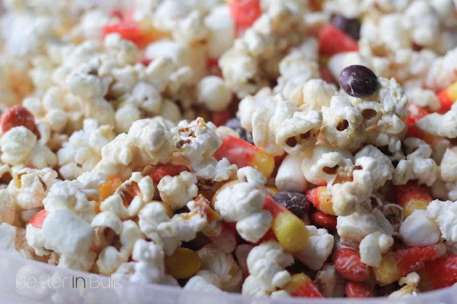 Halloween candied popcorn-7