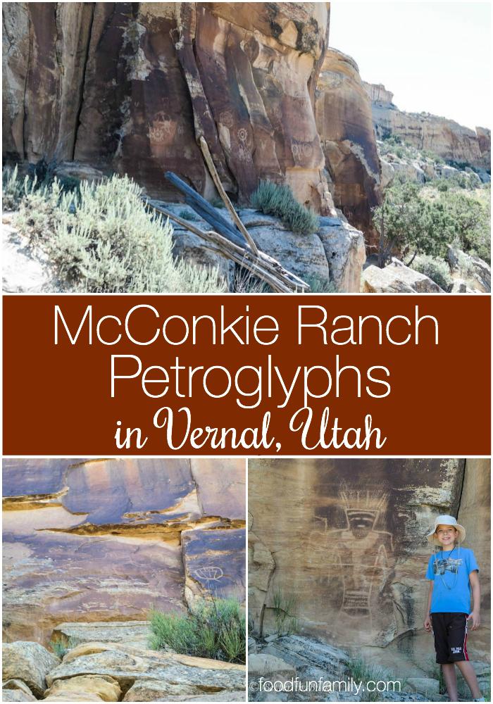 McConkie Ranch Petroglyphs Vernal Utah - family travel