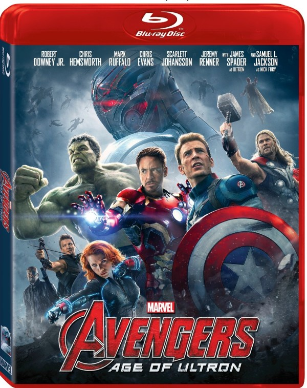 Marvel's The Avengers: Age Of Ultron Bluray