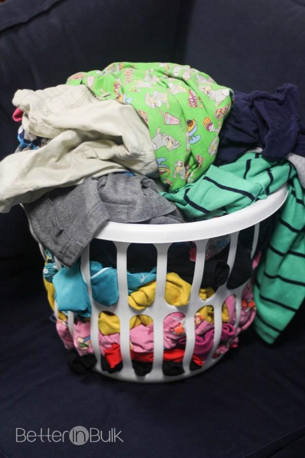 Shout It Out laundry basket
