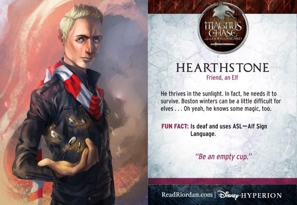 Rick Riordan's Magnus Chase and the Gods of Asgard - Hearthstone