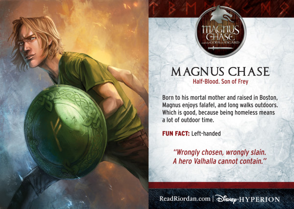 Rick Riordan's Magnus Chase and the Gods of Asgard - Magnus