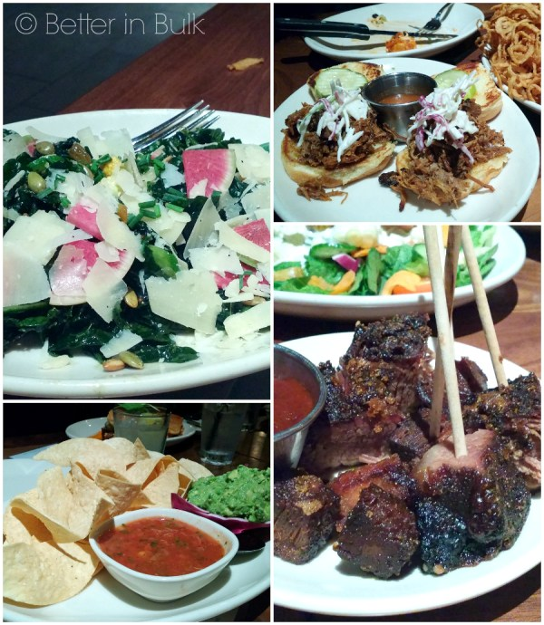 Wood Ranch BBQ & Grill salads and apps