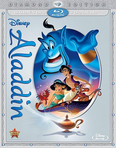 aladdin diamond edition blu-ray dvd