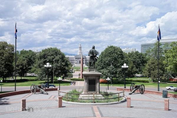 Denver Colorado State Capital Building Mile High City
